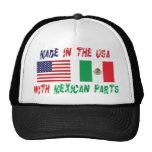 Hecho en los E.E.U.U. con el mexicano parte a la Gorra