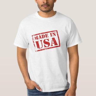 Hecho en los E.E.U.U., hechos en América Remera
