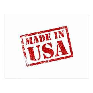 Hecho en los E.E.U.U., hechos en América Tarjetas Postales