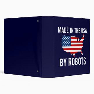 """Hecho en los E.E.U.U. por los robots Carpeta 1 1/2"""""""