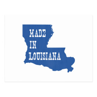 Hecho en Luisiana Tarjetas Postales
