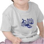Hecho en Maine Camisetas