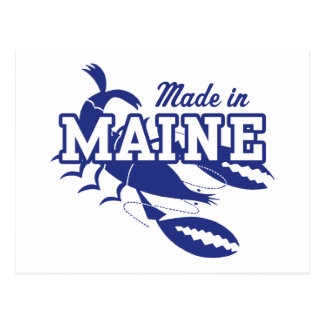 Hecho en Maine Tarjetas Postales