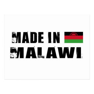 Hecho en Malawi Tarjeta Postal