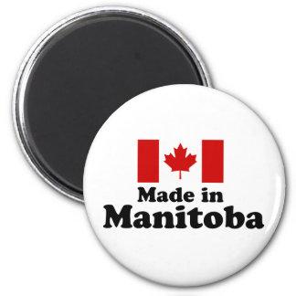 Hecho en Manitoba Imán De Frigorifico
