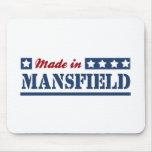 Hecho en Mansfield TX Alfombrillas De Raton
