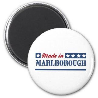 Hecho en Marlborough Imán Redondo 5 Cm