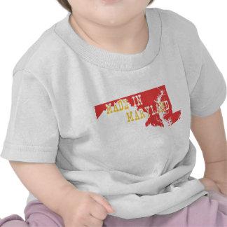 Hecho en Maryland Camisetas