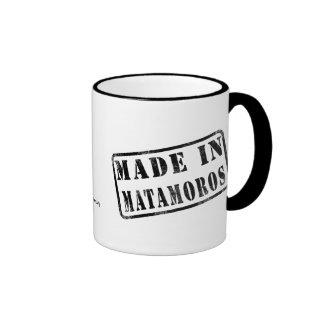 Hecho en Matamoros Tazas De Café