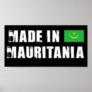 Hecho en Mauritania Posters