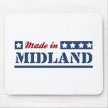 Hecho en Midland TX Alfombrilla De Ratones