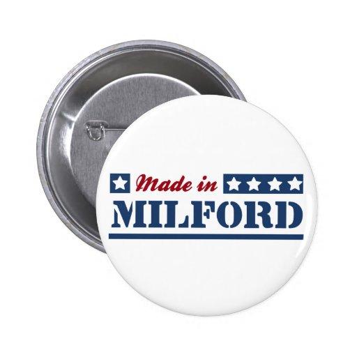 Hecho en Milford Pin