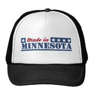 Hecho en Minnesota Gorras De Camionero
