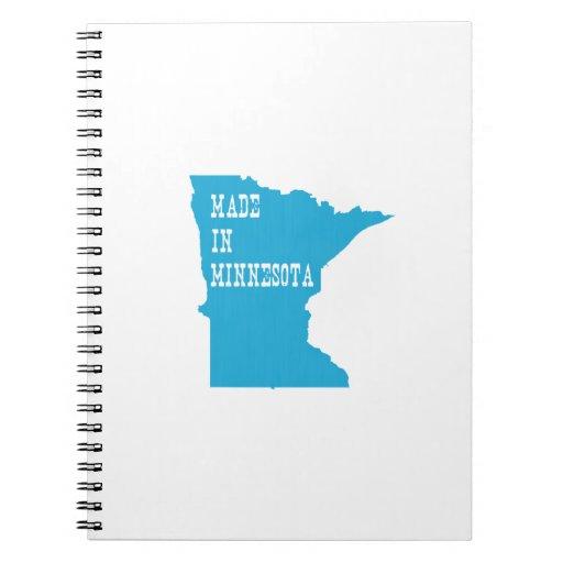 Hecho en Minnesota Libreta