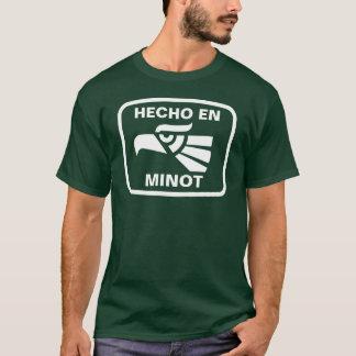 Hecho en Minot  personalizado custom personalized T-Shirt