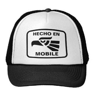Hecho en Mobile personalizado custom personalized Trucker Hats