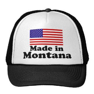 Hecho en Montana Gorras De Camionero