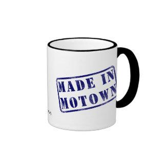 Hecho en Motown Taza De Café