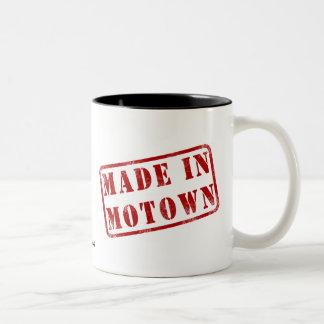 Hecho en Motown Taza De Dos Tonos
