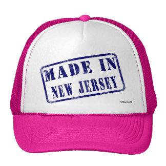 Hecho en New Jersey Gorro De Camionero