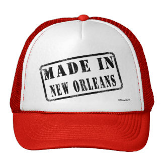 Hecho en New Orleans Gorras De Camionero