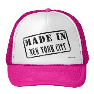 Hecho en New York City Gorras De Camionero