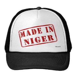 Hecho en Niger Gorras De Camionero