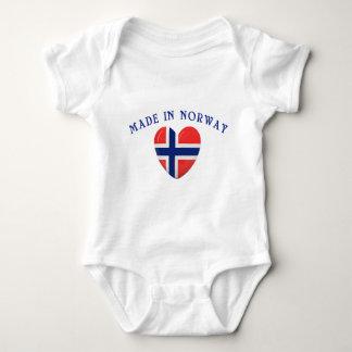Hecho en Noruega con amor Body Para Bebé