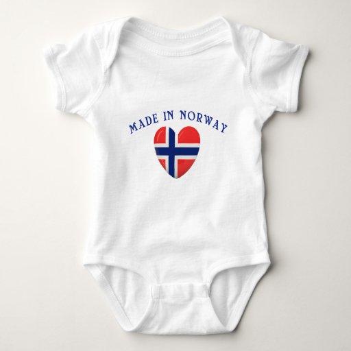 Hecho en Noruega con amor Camisas