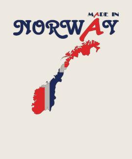 Hecho en Noruega Camisetas