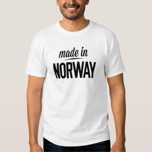Hecho en Noruega Remeras