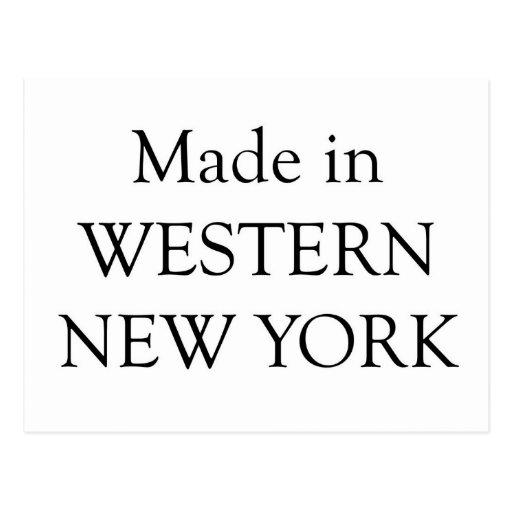 Hecho en Nueva York occidental Postal