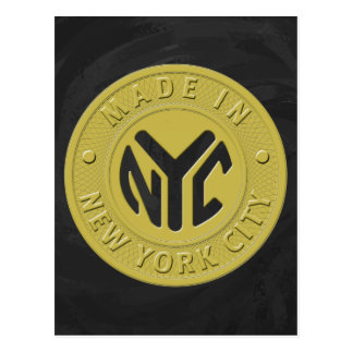 Hecho en Nueva York Tarjeta Postal