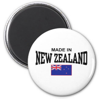 Hecho en Nueva Zelanda Imán Redondo 5 Cm