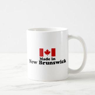 Hecho en Nuevo Brunswick Taza