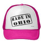 Hecho en Ohio Gorras De Camionero