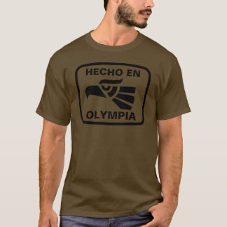 Hecho en Olympia personalizado custom personalized T-Shirt