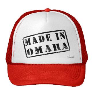 Hecho en Omaha Gorras