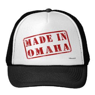 Hecho en Omaha Gorro