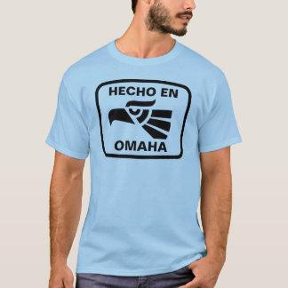 Hecho en Omaha  personalizado custom personalized T-Shirt