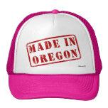 Hecho en Oregon Gorro De Camionero