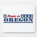 Hecho en Oregon Tapetes De Ratones