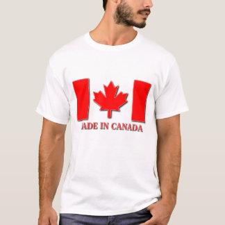 Hecho en orgullo del canadiense de la camisa de