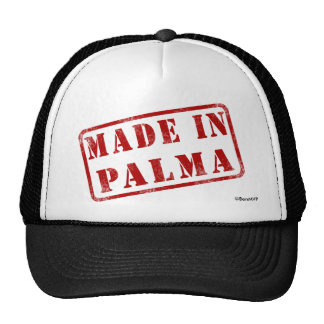 Hecho en Palma Gorras