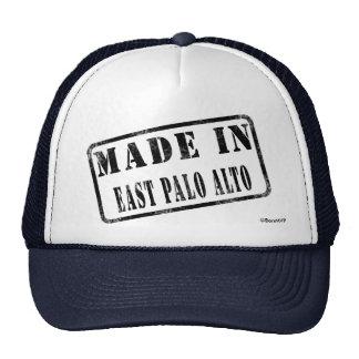 Hecho en Palo Alto del este Gorras De Camionero
