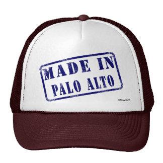 Hecho en Palo Alto Gorras De Camionero