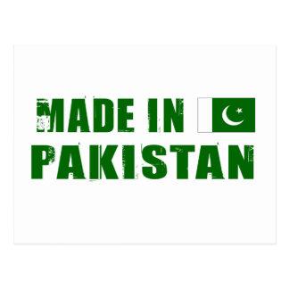 Hecho en Paquistán Postal