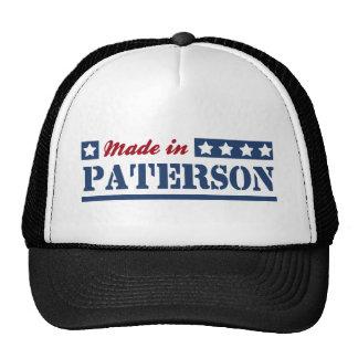 Hecho en Paterson Gorras