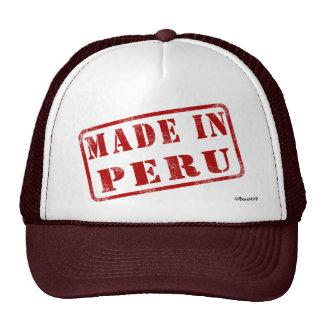 Hecho en Perú Gorra
