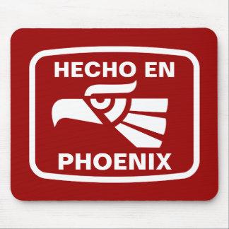Hecho en Phoenix personalizado custom personalized Mouse Pad